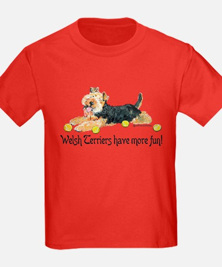 Welsh Terriers Fun Dogs T