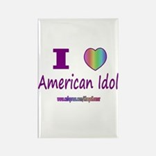 LOVE AMERICAN IDOL Rectangle Magnet
