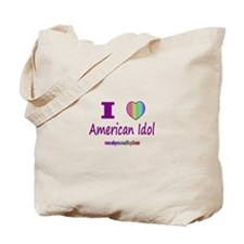LOVE AMERICAN IDOL Tote Bag
