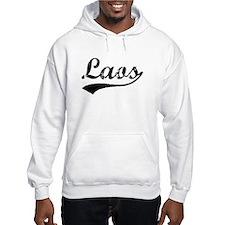 Vintage Laos (Black) Jumper Hoody