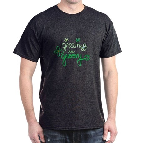 Green is Groovy Dark T-Shirt