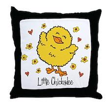 Little Chickadee Throw Pillow