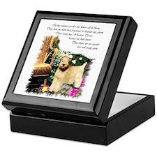 Wheaten Terrier Art Keepsake Box
