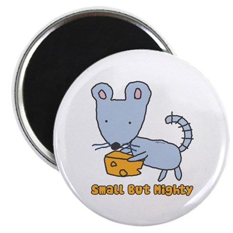 """Small But Mighty Mouse 2.25"""" Magnet (10 pack)"""