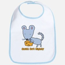 Small But Mighty Mouse Bib