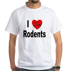 I Love Rodents (Front) Shirt