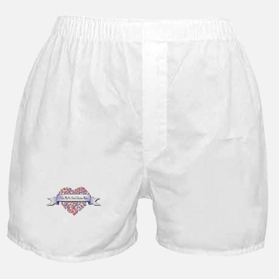 Love My Pre-School Education Major Boxer Shorts