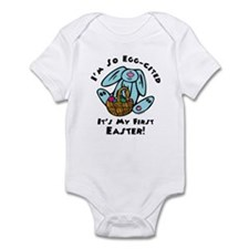 Eggcited 1st Easter Infant Bodysuit