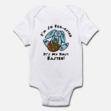 Eggcited 1st Easter Infant Bodysuit