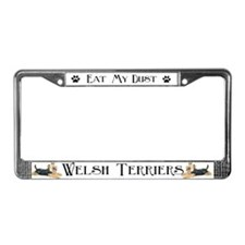 WELSH TERRIER AUTO PARTS License Plate Frame