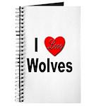 I Love Wolves Journal