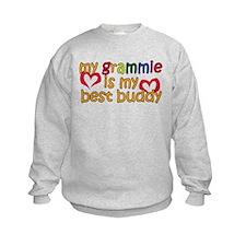 Grammie is My Best Buddy Sweatshirt