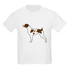 Tri-Color Brittany Kids T-Shirt