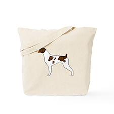 Tri-Color Brittany Tote Bag