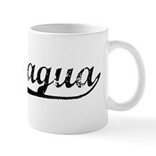Vintage Nicaragua (Black) Mug