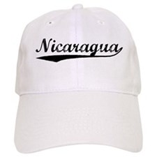 Vintage Nicaragua (Black) Hat