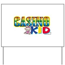 Casino Kid Yard Sign