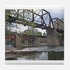 Letchworth Bridge Tile Coaster