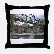 Letchworth Bridge Throw Pillow