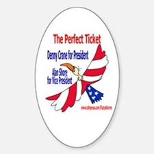 BL PRESIDENT Oval Bumper Stickers