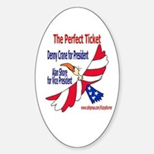 BL PRESIDENT Oval Decal