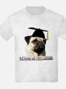 Pug Grad 08 T-Shirt