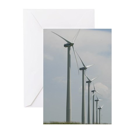 Windmills Greeting Cards (Pk of 20)