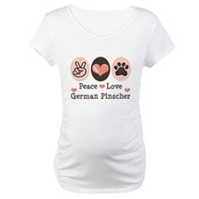 Peace Love German Pinscher Shirt