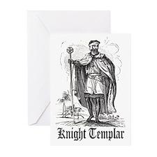 Knight Templar Greeting Cards (Pk of 20)