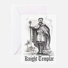 Knight Templar Greeting Card