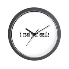 email Wall Clock