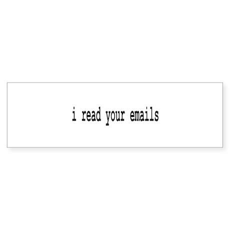 email Bumper Sticker