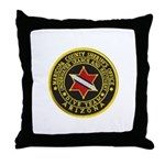 Phoenix Divers Throw Pillow