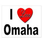 I Love Omaha Small Poster