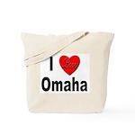 I Love Omaha Tote Bag