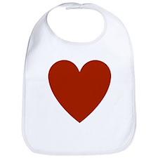 Simple Heart Bib