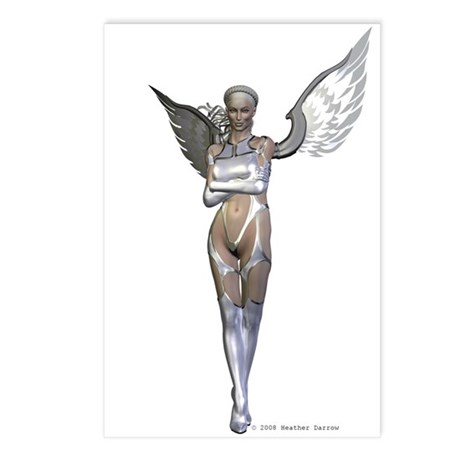 Silver Postcards (Package of 8)