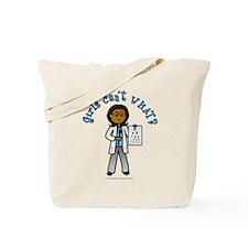 Dark Optometrist Tote Bag