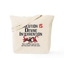 Devine Intervention Tote Bag