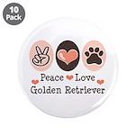 Peace Love Golden Retriever 3.5