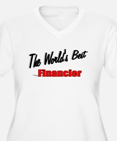 """The World's Best Financier"" T-Shirt"