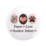 Peace Love Gordon Setter 3.5