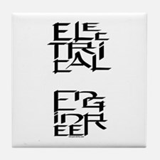 Electrical Engineer Tile Coaster