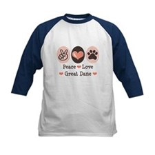 Peace Love Great Dane Tee