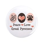 Peace Love Great Pyrenees 3.5