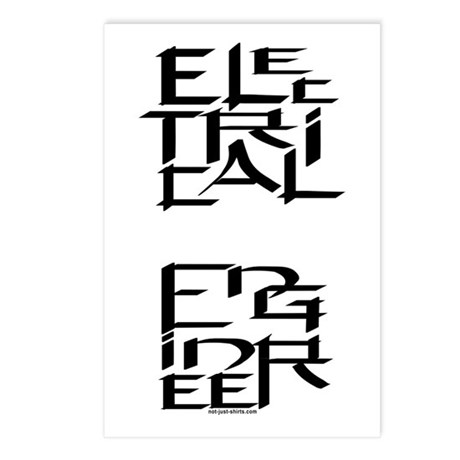 Electrical Engineer Postcards (Package of 8)