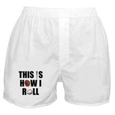 This Is How I Roll Baseball Boxer Shorts