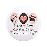 Peace Love Swiss Mt Dog 3.5