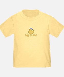 Baby Brother Yellow Duck (s) Toddler Tee