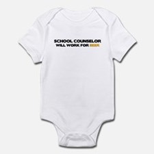 School Counselor Infant Bodysuit